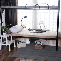法兰绒纯色床垫x7cm厚 90x200 驼色(纯色高低床)