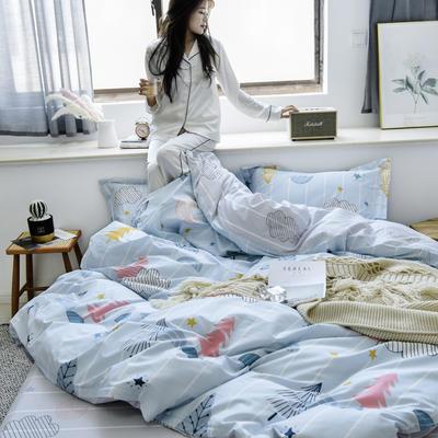 2019新款-全棉133702020微信红包免费进群(床笠款) 床笠款1.2m(4英尺)床 筑梦师