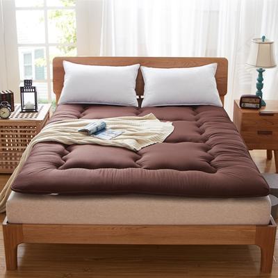 纯色床垫系列 0.9x2m 咖啡色