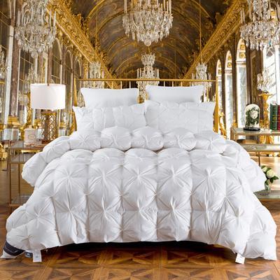 羽绒被 被芯 被子 冬被 羽绒枕芯 枕芯枕头  羽绒床垫 床垫 150*200cm 白色