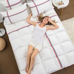 2018新款-希尔顿酒店豪华羽绒床垫 1.8m(6英尺)床 羽绒-豪华-床垫