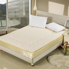 缘自淘家纺 加厚保暖秋冬羊羔绒床垫床褥 90*200cm 羊羔绒床垫米白