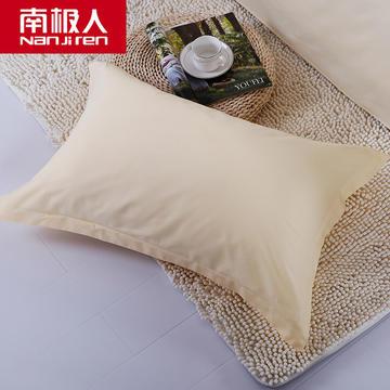 2018新款-缘自淘全棉纯色单品枕套纯棉枕芯套子