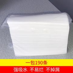 2018新款-缘自淘家纺 一次性毛巾一包起售190条加厚无纺布擦脚纸吸水   30*60 一次性毛巾