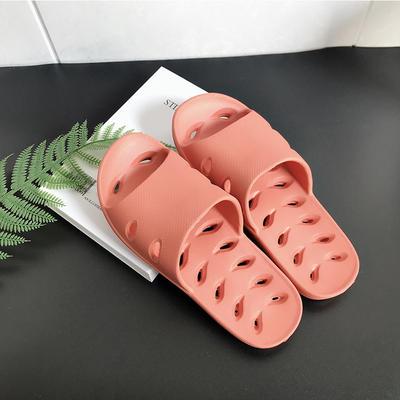 EVA夏季凉拖浴室抗菌防滑拖鞋 女鞋(37-38) 粉色