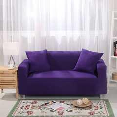木木家纺 沙发套 脚踏/茶几90*90cm     20元 紫色
