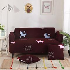 沙发套-8.29新花型 脚踏/茶几90*90cm 木马
