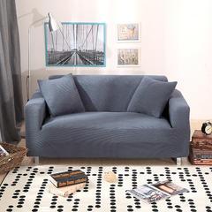 木木家纺 玉米绒沙发套 45*45cm抱枕套 玉米绒灰色