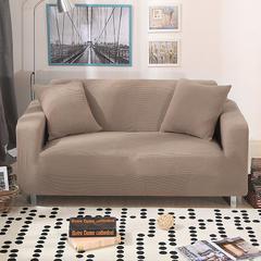 木木家纺 玉米绒沙发套 45*45cm抱枕套 玉米绒驼色