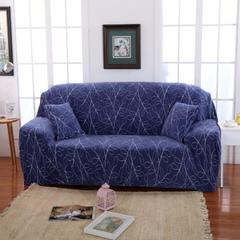 木木家纺 绒款沙发套印花 195-230cm/三人 枝繁叶茂