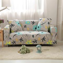 木木家纺 沙发套 单人位(90-140CM适用) 花叶寄情