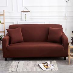 2018新款纯色沙发套 抱枕套  (45*45) 浅咖
