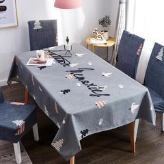 2019新款-桌布 桌布120*120cm 雪松