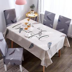 2019新款-桌布 桌布120*120cm 羽毛