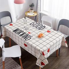 2019新款-桌布 桌布120*120cm 早上好