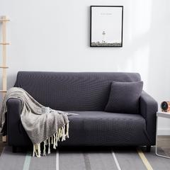 2019新款-玉米绒沙发套 抱枕套(45*45) 玉米绒-深灰