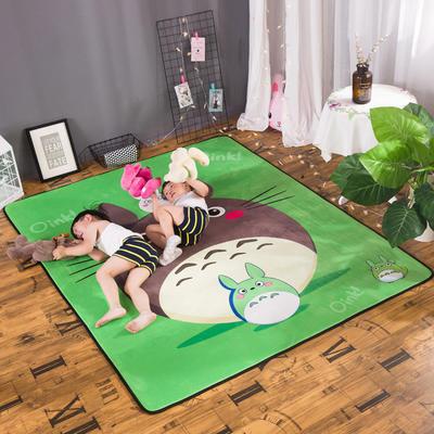 2018新款优悠生活地垫野餐垫爬爬垫防滑垫儿童垫 150*190cm 龙猫