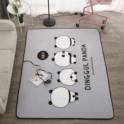 2018新款优悠生活地垫野餐垫爬爬垫防滑垫儿童垫 150*190cm 小灰猫