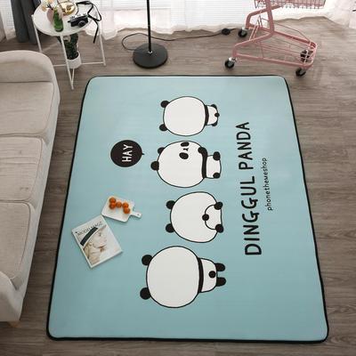 2018新款优悠生活地垫野餐垫爬爬垫防滑垫儿童垫 150*190cm 小蓝猫