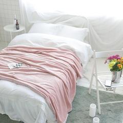 韩版剪花加厚法莱绒300克毛毯绒毯保暖毯棉麻混纺包边(穗穗) 150*200cm 穗穗-粉