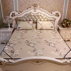 皇钻家纺   2018新品天丝软凉席床垫款 120*200cm两件套 古色生香