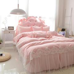 玉儿纺  韩版莫代尔套件-欢乐颂 大靠背 1.5m玉色