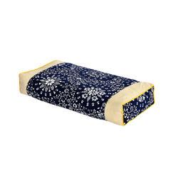 荞麦枕-民族风老粗布荞麦枕(48*22*8cm) 青花瓷