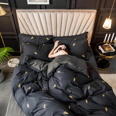 2019新款輕奢精梳棉四件套 1.2m床單款三件套 萊絲莉