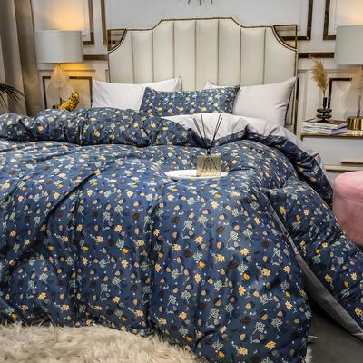2020款水洗天絲四件套真絲冰絲歐式絲滑 1.5m(5英尺)床單款 泰蜜