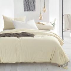 新疆长绒棉冬被 标准200*230 米色
