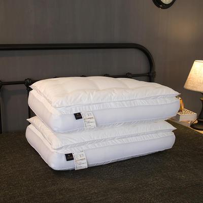 双层羽丝绒枕48*74/个 双层羽丝绒枕
