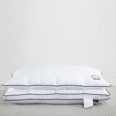 羽丝绒双胎枕48*74/个 羽丝绒双胎枕