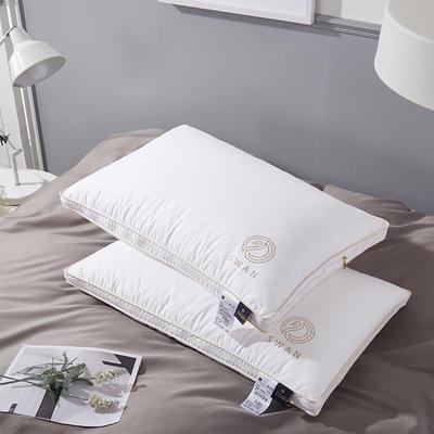 欧式羽毛枕48*74/个 欧式羽毛枕