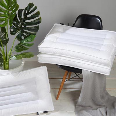 优雅荞麦枕48*74/个 优雅荞麦枕白色