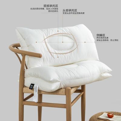 2021新款颈椎SPA按摩枕42*68cm 白色