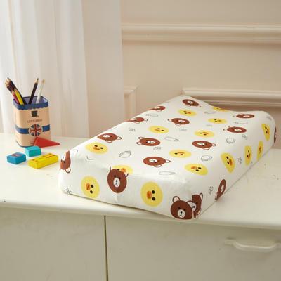 2021新款儿童乳胶枕 布朗熊27*44cm
