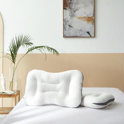 2021新款针织SPA按摩枕45*65cm 白色