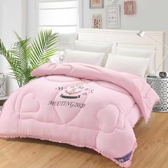 韩版水洗棉被系列 150x200cm(3斤) 粉红
