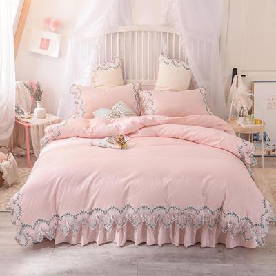 2020新款玫瑰秘密系列四件套-床单款 1.2m床单款三件套 玫瑰秘密-玉