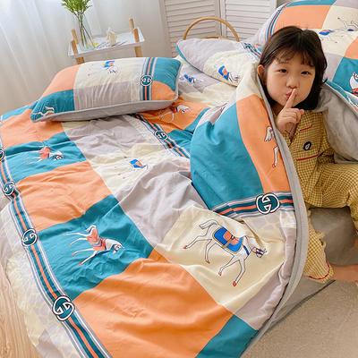 2020新款棉+法莱绒系列四件套 1.2m床单款三件套 香榭丽