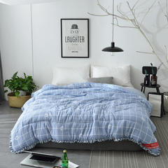 水洗棉冬被春秋被 2.0*2.3m(6斤) 几何线条