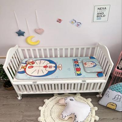 2018新款婴儿床冰丝席(实拍图) 60*120(2件套) 小叮当