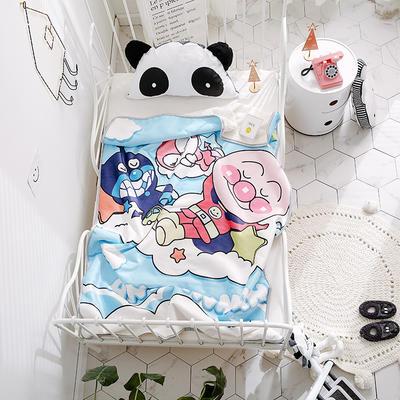 2018新款儿童羊羔绒毛毯 100*150 睡觉面包