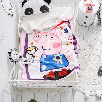 2018新款儿童羊羔绒毛毯