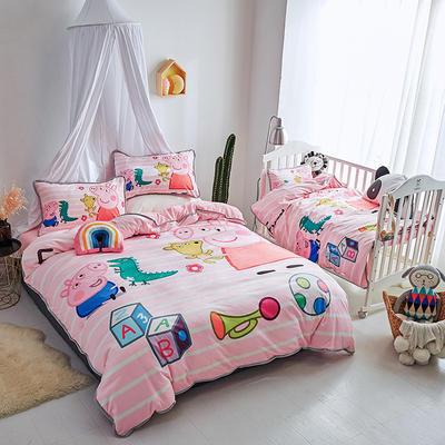 2018新款亲子宝宝绒套件 其它 佩奇的玩具