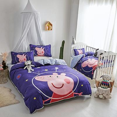 2018新款亲子宝宝绒套件 其它 太空猪