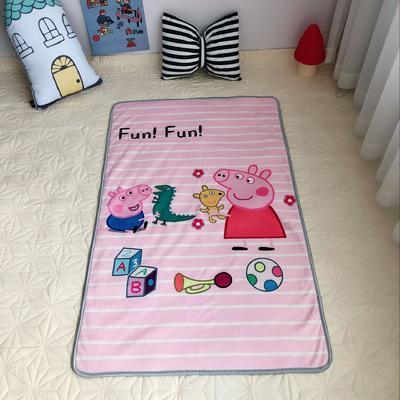 2018新款特价款儿童羊羔绒毛毯 80*130 佩琪的玩具