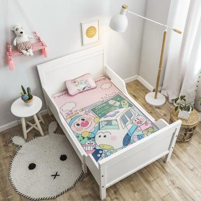 2019新款 婴儿冰丝席 60*120cm(2件套)枕套含荞麦芯 巴士面包
