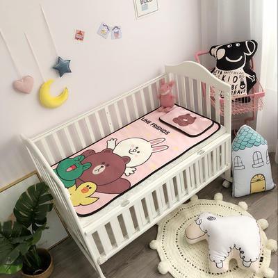 2019新款 婴儿冰丝席 60*120cm(2件套)枕套含荞麦芯 好朋友