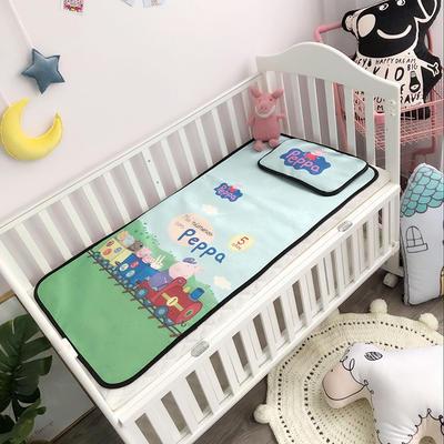 2019新款 婴儿冰丝席 60*120cm(2件套)枕套含荞麦芯 开火车